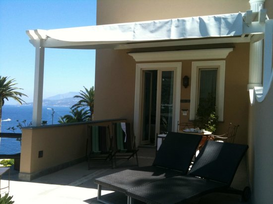 Villa Marina Capri Hotel & Spa: INGRESSO CAMERA