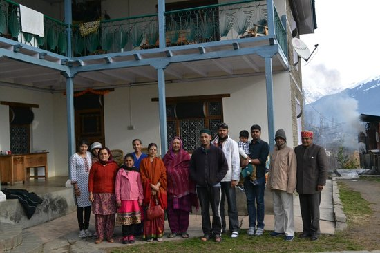 Upadhyay Cottages: With Upadhyay Family Members