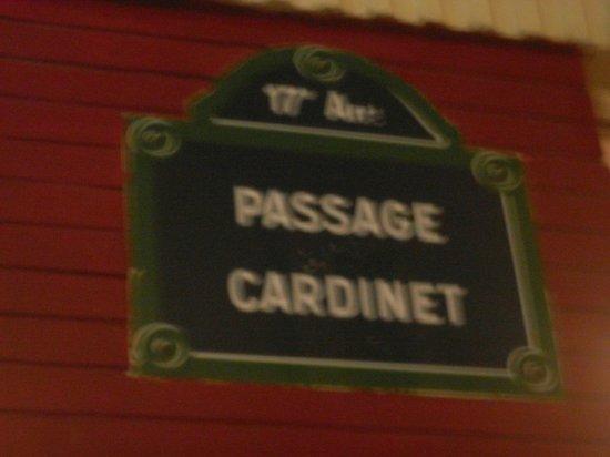 Hotel Prince Albert Wagram: Passage Cardinet