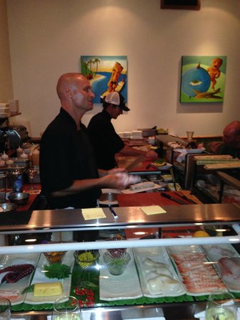 The Dolphin : At the Sushi Bar