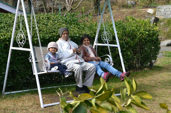 Upadhyay Cottages: On the swing