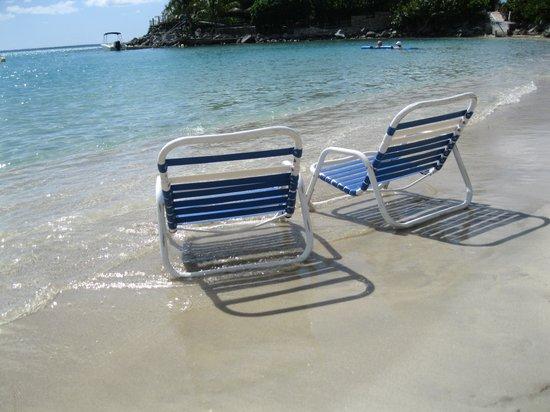 """Grand Case Beach Club : """"our spot"""""""