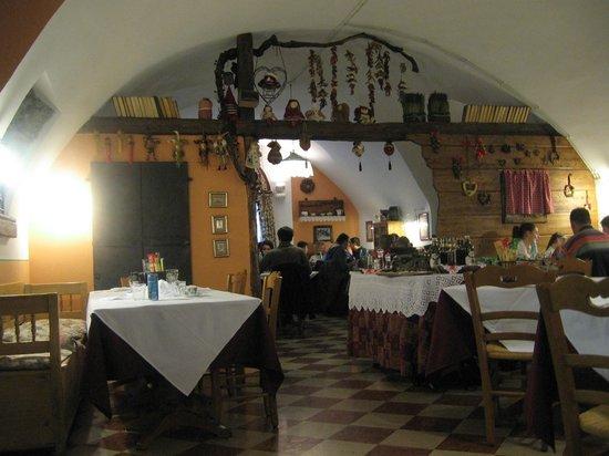 Ristorante Vecchia Fontana: Sala da pranzo