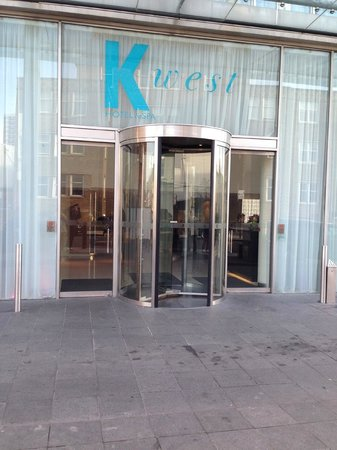 K West Hotel & Spa: the front entrance