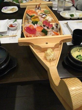 Blue Ocean: sushi boat