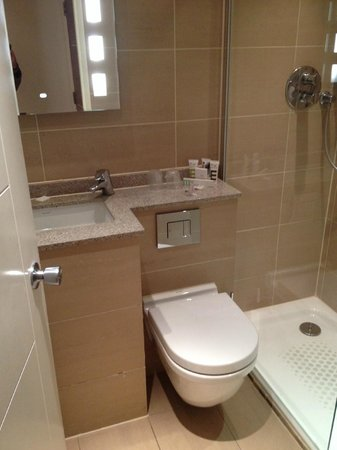 Mercure London Bloomsbury: Room 402 - bathroom