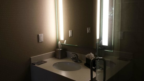 Ontario Grand Inn & Suites: Bathroom