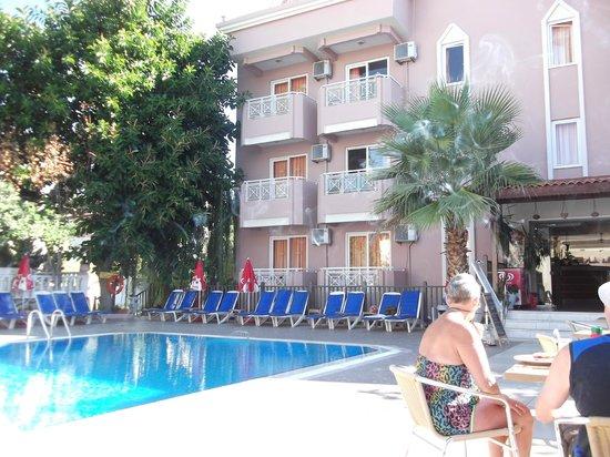 Amphi Apartments & Studios: view from bar