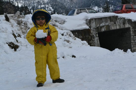 Solang Valley: Snow Kid