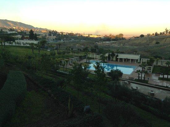 Palais Medina & Spa: View from room balcony