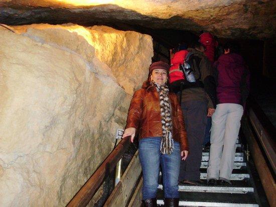Dachstein Giant Ice Caves: Muitas escadas