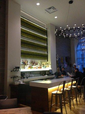 Hotel Zetta San Francisco: bar at lobby