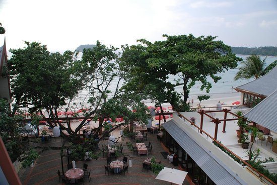 The Boathouse Phuket : View from the terrace