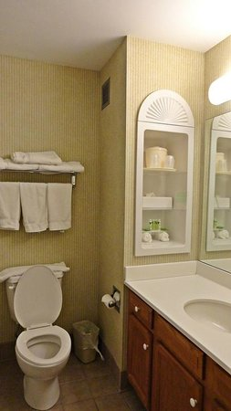 Holiday Inn Express Hotel & Suites White River Junction: Baño
