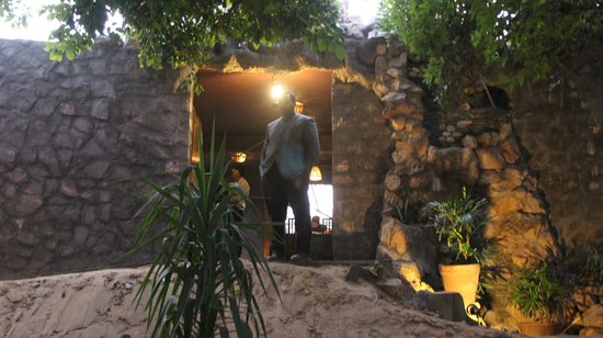 The Pugmark: tiger dan type enterance of hotel