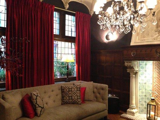 Hotel Prinsenhof Bruges : Lounge
