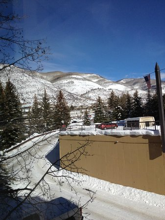 "Marriott's StreamSide Evergreen at Vail: The view from my ""knitting"" chair"