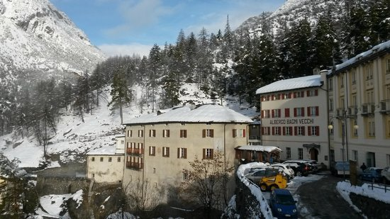Hotel Bagni Vecchi: Vista Panoramica