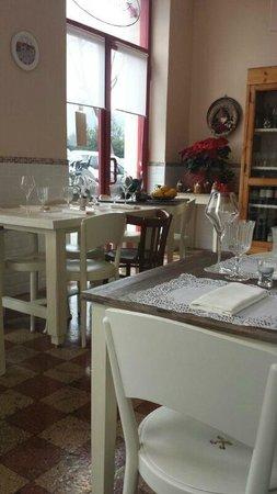 L'Ocanda Giuliva : Interno ristorante