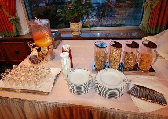 Landhaus Seela: Frühstücksbuffet