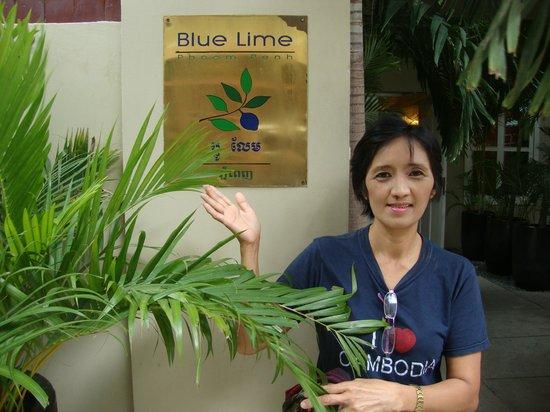 Blue Lime Hotel main entrance