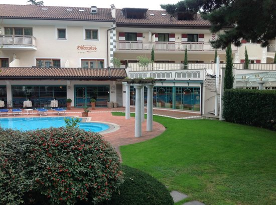 Romantikhotel Oberwirt: Blick vom Gartenhaus