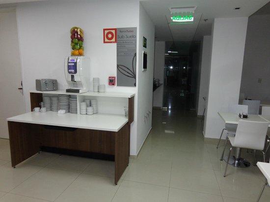 Rental Suites Pilar: LUGAR DONDE DESAYUNAMOS