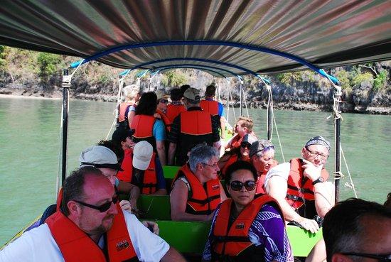 June Bahtra Phang Nga Bay Day Trip: fun on the long tail