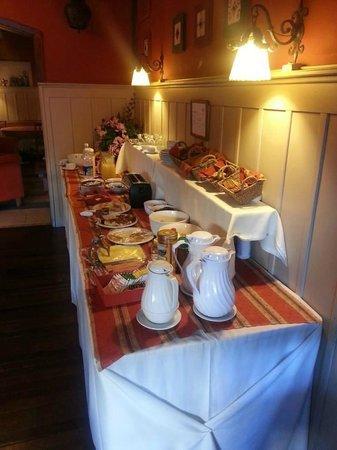 Hosteria La Casita: desayunador