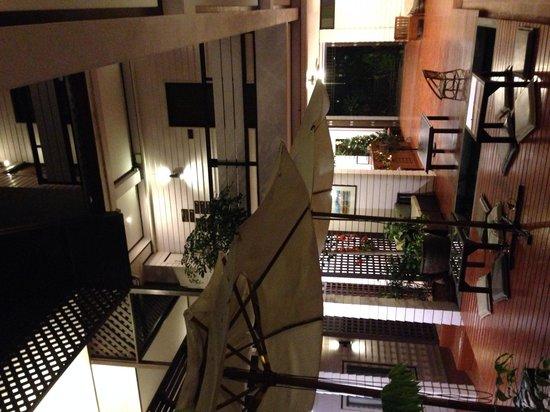 Thanicha Healthy Resort Amphawa: Il cortile interno