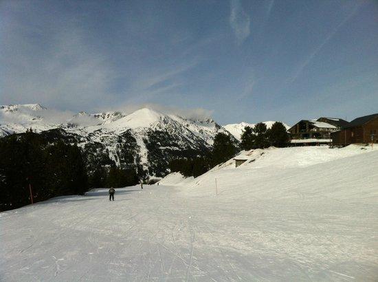 โซลดิว, อันดอร์รา: Las temperaturas, los días de sol y la nieve son los mejores en esta zona del Pirineo