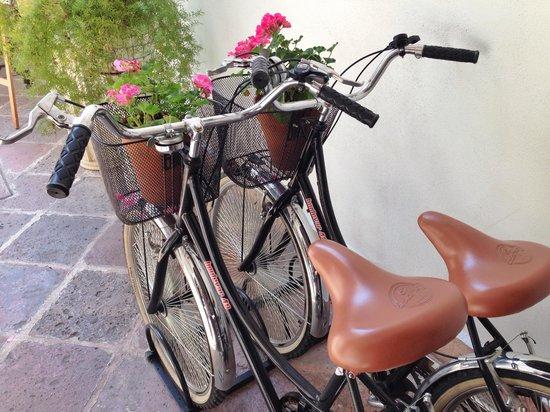El Serafin Hotel Boutique : Bicicletas Retro
