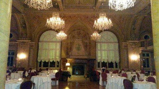 Hotel Bagni Vecchi: sala cena