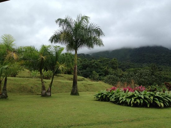Hotel Lomas del Volcan: View from the hotel restaurant