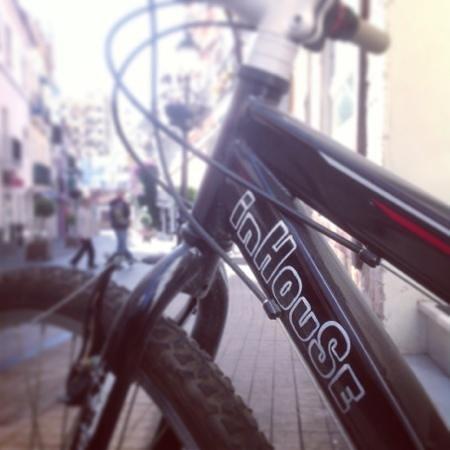 inhouse marbella hostal bike biking mtb cycling bike friendly