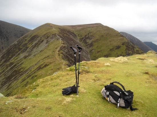 Central Fells: Whiteless Pike 660m NE to Wandhope