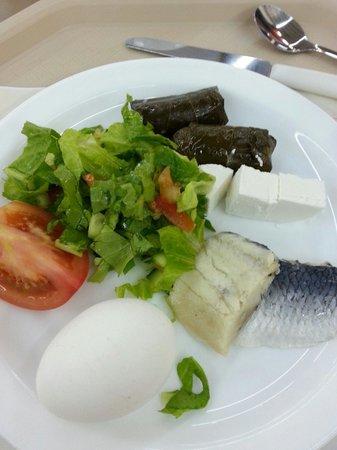 Kalia Kibbutz : Breakfast