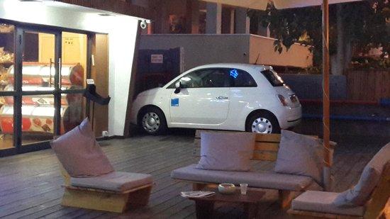Hotel Boutique Alma: Спокойный паркинг