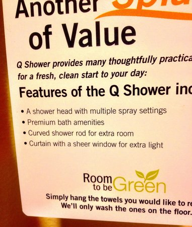 Quality Inn Santa Barbara: Unlikely amusement on trip to toilet