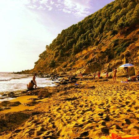 Trezene Villaggio : Spiaggia del Lago, vicino al Trezene, lato Tresino