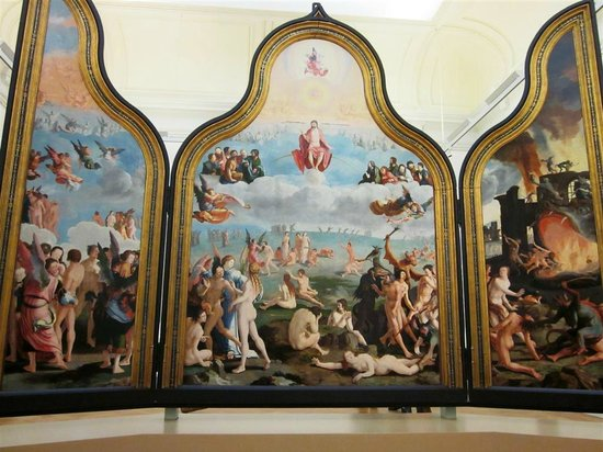 Museum De Lakenhal: триптих «Суд Божий»