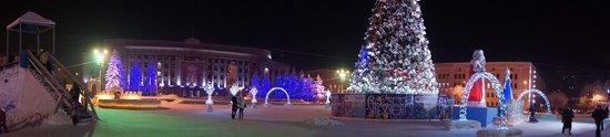 Theatre Square: Ночью