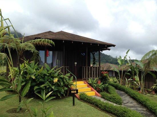 Hotel Lomas del Volcan: Front of our cottage