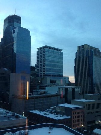 Loews Minneapolis Hotel : View from our room