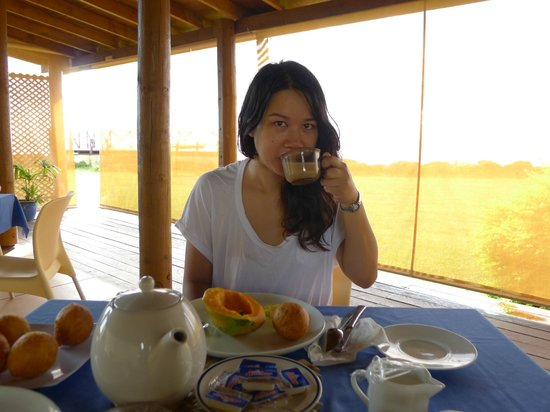 The Savaiian Hotel: breakfast - such a highlight for me