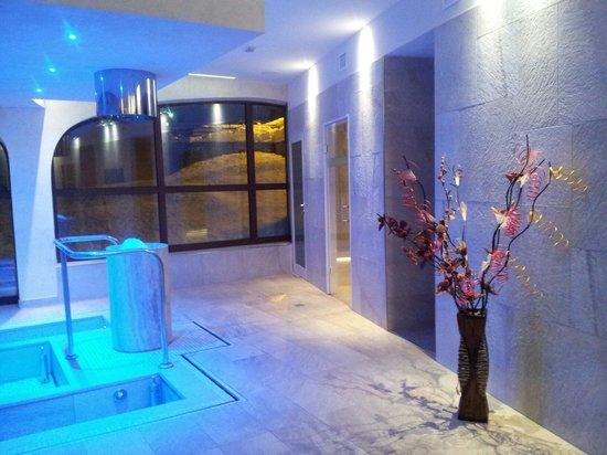 Hotel Regina delle Alpi: Splendido scorcio della Spa!