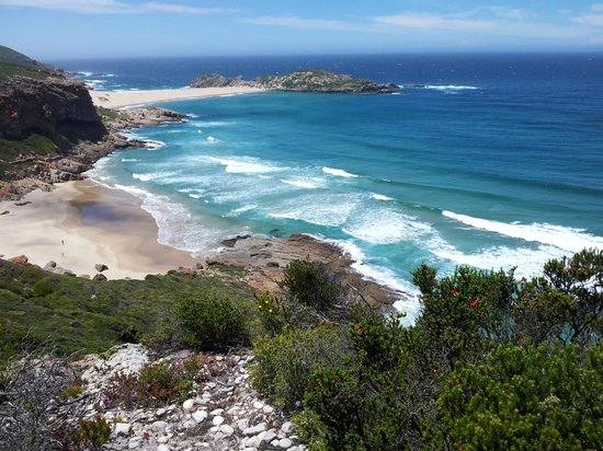 Robberg Nature Reserve : Heading back ...the views are spectacular.