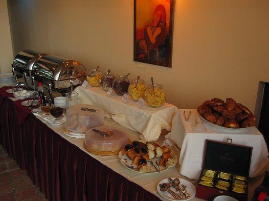 Betsy's Hotel: Fruehstuecksbuffet