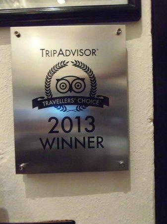 Hotel Casa Ticul: Premio TripAdvisor y bien merecido