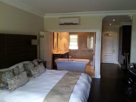 Devon Valley Hotel : The room was beautiful